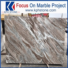China Market Violet Brown Marble for Flooring
