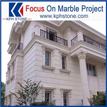 Classico Beige Marble Exterior Wall Panel