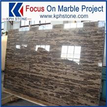 Coffee brown gold coast marble slabs