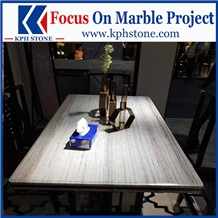 Crystal Wooden Marble Kitchen Table&Tops for Hotel