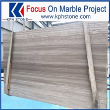 Guizhou Brown Wooden Marble for Building