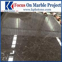 Olive Ash Grey Marble Slabs