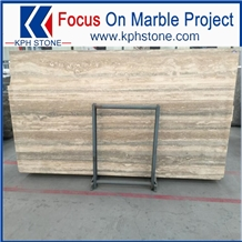 Silver Travertine Tile for Flooring and Wall