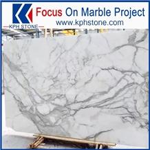 Statuario Bianco Marble Slabs