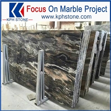 Top Grade Venice Brown Marble Slabs