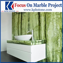 Verde Ming Green Marble Bathroom Countertops&Tops