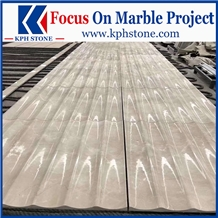 Victory White Cloudy Beige Marble Slabs&Tiles