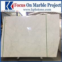 White Carrara Marble Floor Tile for Wynn Las Vegas