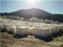 Caliza Alba White Limestone Blocks