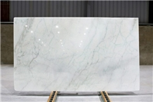 Greenish White Marble Slabs