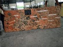 Alaska Red Granite Slabs & Tiles