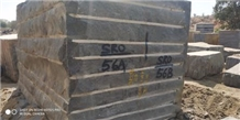Impala Black Granite Block, India Black Granite