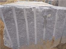 Steel Grey Granite Rough Block