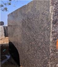 Tan Brown Granite Blocks