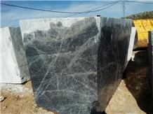 Black Mango Marble Blocks, Slabs