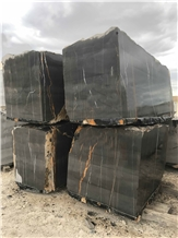 Noir Azilal- Azilal Black Marble Blocks
