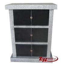6 Crypts G603+India Black Granite Columbarium