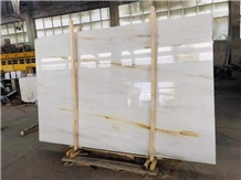 Estremoz Beige Marble White Color Golden Line