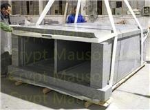 Grey Granite G603 2 Crypt Mausoleum for Family