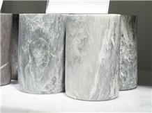 Ziarat Grey Marble Cup Bath Tumbler,Bathroom Set