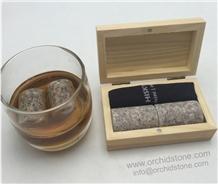 G681 Whiskey Rocks Gift Box Set,Barware Set