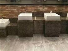 Gucci Grey Marble Bathroom Vanity Tops,Countertops