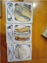 Marble Wireless Charger Stone Carved Gifts