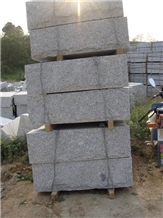 G341 Grey Granite Mushroom Stone Wall Blocks