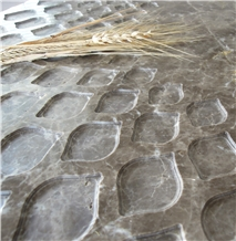 Engraved Marble Top Surfaces
