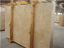 Ivory Travertine Slabs - Saw Cut Unfilled