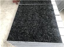 Angola Black Granite Polished Wall Floor Tiles