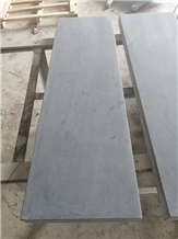 China Blue Limestone Honed Stairs Step Tiles