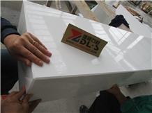 Nano White Artificial Marble Kitchen Countertop