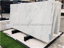 White Marble Slab, Bianco Carrara White Marble