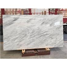 Greece New Grey Veins Ziarat White Marble Slab