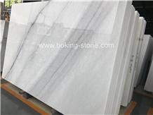 New Calacatta Lasa White Marble Slabs