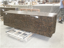 Baltic Brown Granite Prefab Kitchen Countrtops
