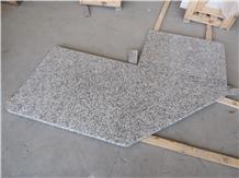G439 Big Flower White Granite Kitchen Countertop