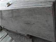 River Valley White Granite Kitchen Countertops