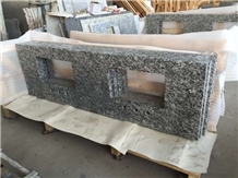 Surf/Wave White China Granite Bath Vanity Tops