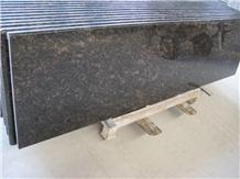 Tan Brown Granite Prefab Kitchen Countertops