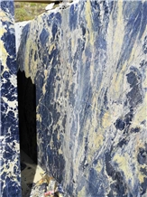 Brazil Granite Blue Sodalite Big Block Quarry