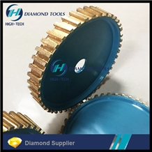 Diamond Calibrating Roller for Granite Slotting