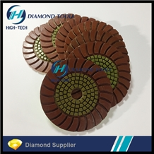Sunflower Sunny Dry Polishing Pad for Granite
