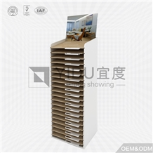 Laminate Wood Flooring Tile Display Rack