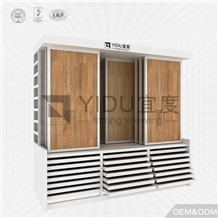 Wood Timber Display Rack for Pvc Floor