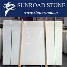 Royal White,Han White, Sichuan White Marble Slabs