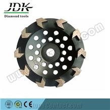Arrow Segment Cup Wheel for Concrete Grinding