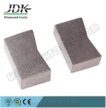K Shape Segments for Granite Fast Cutting