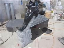 Granite Headstone Memorial Upright Monument